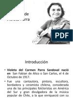 Biografía de Violeta Parra