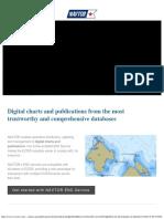 Digital Charts and Publications - NAVTOR