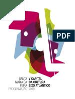Programa capital cultural Eixo Atlántico 2018
