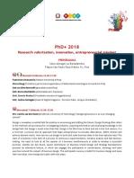 PhD+ 2018