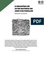 Los Desafios de Estado de Derechos Culturales - Vladimir Velazquez Moreira - Ano 2017 - Portalguarani