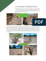 Precauciones Al Construir en Riberas Del Río