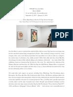 Art review of Pop Art