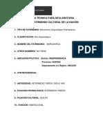 FICHA TÉCNICA PARA DECLARATORIA COMO PATRIMONIO CULTURAL DE LA NACIÓN.docx