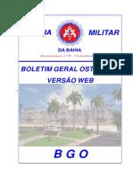 Extrato Bgo 235 2008 PM BA