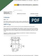 Carburador- Sistema de Operación
