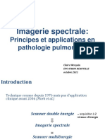 8-Scanner Spectral - Principes Et Applications en Pathologie Pulmonaire