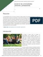 (Ojeda, Alvarez, 2016) Responsabilidad Social en Las Universidades. Antecedentes, Trayectorias y Perspectivas