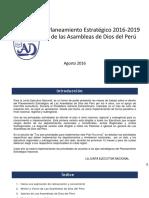 Planeamiento Estratégico 2016-2019 ADDP