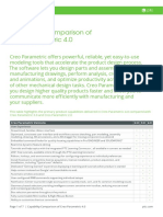 Datasheet-Capability Comparison of Creo Parametric 4-En