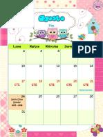 Calendario Buhos 2015 2016 Ary1