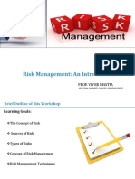 DDU Risk Management &Derivatives