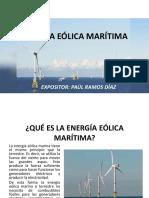 Energía Eólica Marítima
