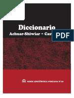 diccionario achuar-shiwiar