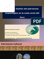 Gestión Del Patrimonio Arqueológico en La Costa Norte Del Perú