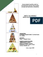 Dieta Saludable (Investigación Aplicada)