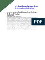 el espacio en el analisis del movimiento, Laban.docx
