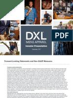 DXLG Investor Presentation September 2017 Final[1]