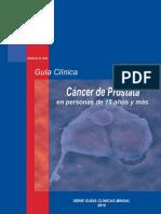 Guia Clinica 2010 Cáncer de Prostata en Personas de 15 Años y Más