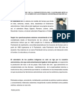 CALENDARIO RITUAL AGRO-ASTRONÓMICO ANDINO