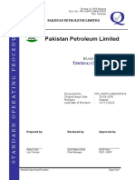 SOP-016-Testing of LPG Residue