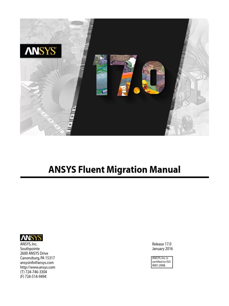 ANSYS Fluent Migration Manual | Proton Exchange Membrane Fuel Cell |  Computing And Information Technology
