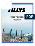 TLYS Tillys 2018 TLYS ICR Presentation [Read-Only]