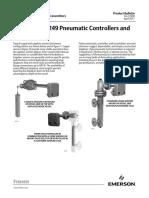 Fisher 2500 249 Pneumatic Controllers Transmitters en 127050