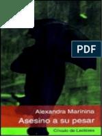 Asesino a Su Pesar - Alexandra Marinina