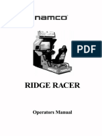 Ridge Racer by Namco - Operators Manual