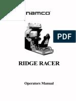Ridge Racer by Namco - Operators Manual