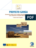 Pterocles Proyecto Ganga Informe Final Completo