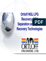 UOP Ortloff NGL LPG and Sulfur Recovery Technologies Tech Presentation