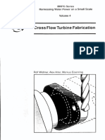 04 Cross Flow Turbine Fabrication