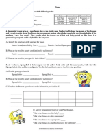 dihybrid cross worksheets
