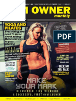 Gym Owner Monthly September 2017