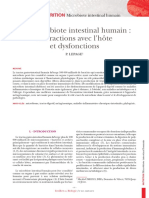 Microbiote Intestinal Humain