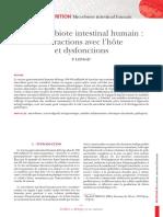 Microbiote Intestinal Humain