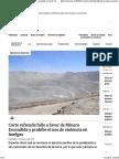 Corte Refrenda Fallo a Favor de Minera Escondida y Prohíbe El Uso de Violencia en Huelgas