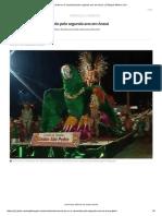 Carnaval de Rua é Cancelado Pelo Segundo Ano Em Araxá _ Triângulo Mineiro _ G1