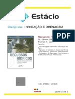 Apostila Irrigação e Drenagem 2