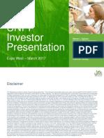 UNFI Investor Presentation 2017