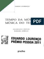 Eduardo Lourenço - Tempo da música Musica do tempo.pdf