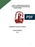 Gui_a Para La Composicio_n de Ensayos, Tesis, Trabajos de Investigacio_n y Discertaciones-1.-1
