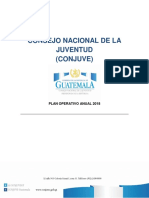 PLAN Operativo Conjuve 2018