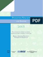 14. PNS Percepção Do Estado de Saúde Estilos de Vida e Doenças Crônicas