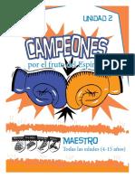 Maestro Escolares Serie Campeones