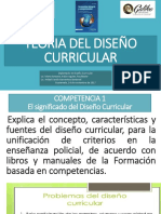 Teoria Diseño Curricular c1