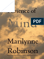 Robinson, Marilynne - Absence of Mind (Yale, 2010)