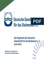 DGfdB-Regelwerk